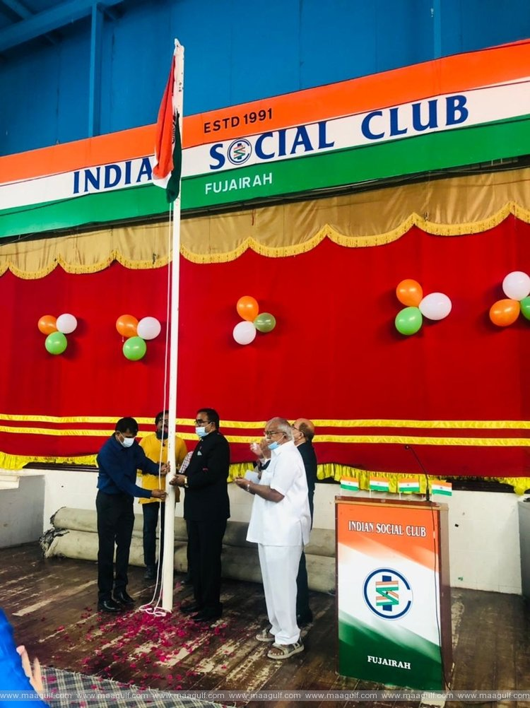 Republic day celebrations by Indian Social Club