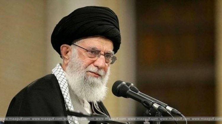 Iran leader account posts warning to Trump