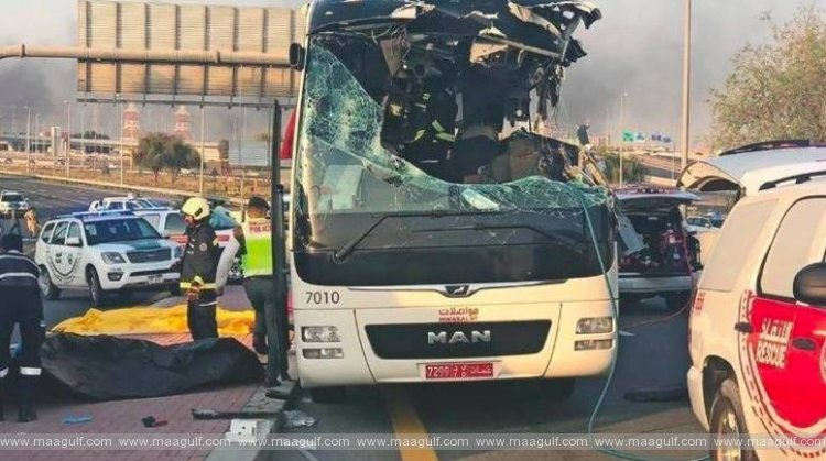 Dubai bus crash: 7-year jail term for Omani driver reduced to 1 year