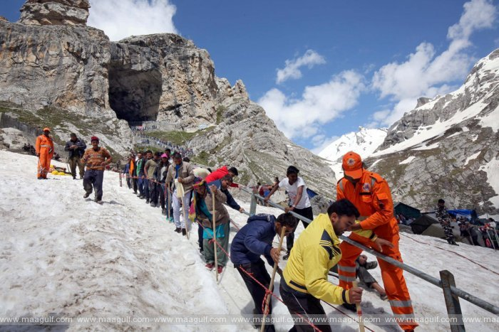 Corona break for Amarnath Yatra