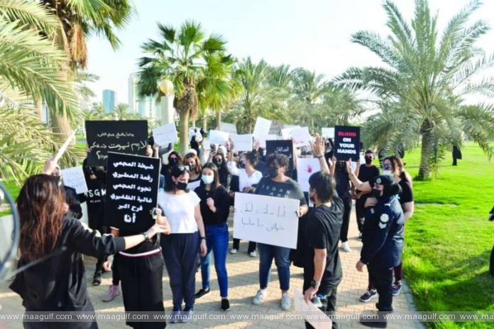 Protest organized for slain Kuwaiti woman