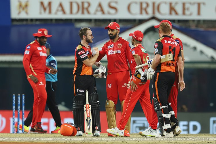 Sunrisers Hyderabad won against Punjab Kings