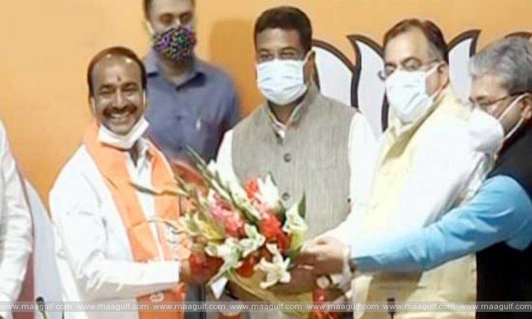 TRS ex-leader Rajender joins BJP