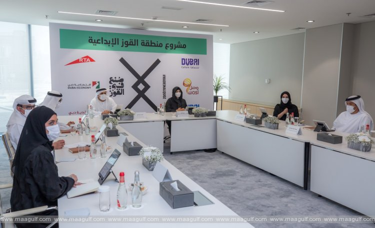 Latifa bint Mohammed gives green light for governance system and 100-day plan to develop Al Quoz Creative Zone