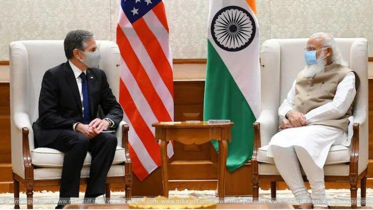 PM Modi meets US secretary of state