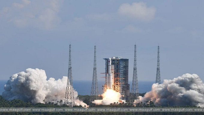 China's preparation to hit the ISS, launched a spacecraft carrying goods to the space station