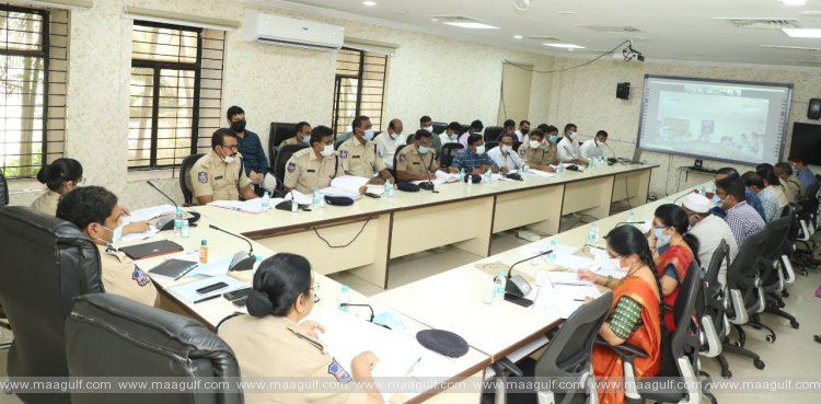 Grievance Cell Review Meeting in Cyberabad