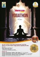 Country Club Yogathon in Abudhabi