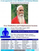 Free Meditation & Enlightenment course in Abudhabi