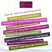 Wave upcoming events