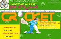 Cricket Tournament by Telangana Praja Samithi,Qatar
