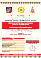 Shiva Parvathula Kalyana Mahotsavam by Shree Karam