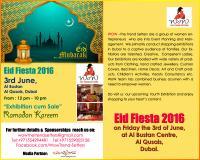 'EID Fiesta-2016' in Dubai