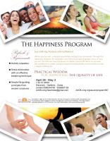 'The Happiness Programme' by 'Art of Living'