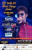 Anirudh A Live in Dubai