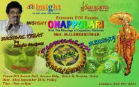 'Onappulari' event by Insight in Dubai
