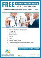 Diabetes Health Checkup in Dubai