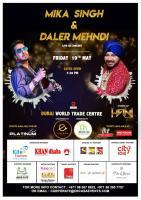Mika Singh & Daler Mehndi in Dubai