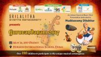 'Guruvandhanam' by Sri Lalitha Events Mgmt,Dubai