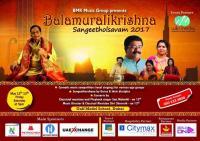 Balamurali Krishna Sangeetholsavam by BMK Music Group