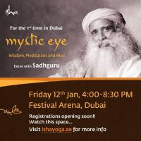 'Mystic Eye' by Isha foundation in Dubai