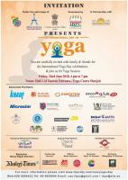 International Yoga Day-Sharjah