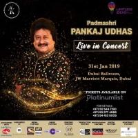 Padmasri Pankaj Udhas Live in Concert in Dubai