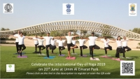 'International Yoga Day' in Abudhabi