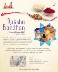Raksha Bandhan by 'BAPS-Abudhabi'