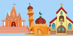 Temples / Masjids / Churches